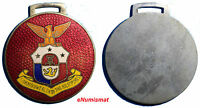 PHILIPPINES COMMONWEALTH INAUGURATION SILVER ENAMEL MEDAL 1935 34MM AUNC CONDIT.