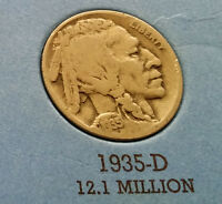 1935 D USA BUFFALO NICKEL  WHAT YOU SEE IS WHAT YOU GET CHEAP
