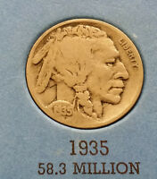 1935 USA BUFFALO NICKEL  WHAT YOU SEE IS WHAT YOU GET CHEAP