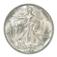 1940-S 50C WALKING LIBERTY HALF DOLLAR PCGS MINT STATE 66 2231-3 CAC