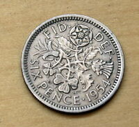 1954 1967 GREAT BRITAIN 6 PENCE WEDDING COIN CHOOSE YOUR YEAR