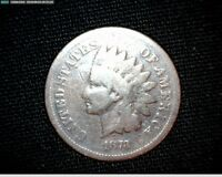 1873 INDIAN HEAD SMALL CENT PENNY 6852