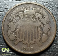 1865 2 CENT PIECE  --  MAKE US AN OFFER  O1580