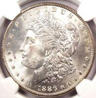 1886 MORGAN SILVER DOLLAR   NGC MS66   SUPERB LUSTER AND LOOK