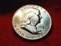 1959 D HALF DOLLAR GREAT GEM BU HALF DOLLAR   30