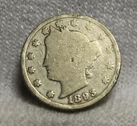 U.S.COINS1893 LIBERTY NICKEL CENTS