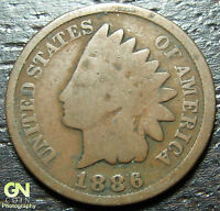1886 TYPE 2 INDIAN HEAD CENT      MAKE US AN OFFER  O1769