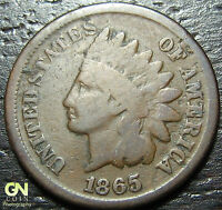1865 INDIAN HEAD CENT  --  MAKE US AN OFFER  Y2985