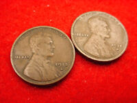 1915 D & 1915 S LINCOLN CENTS GREAT COINS   9