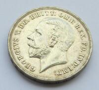 GEORGE V ROCKING HORSE CROWN 1935   GOOD COLLECTABLE COIN