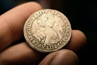 PETER I THE GREAT RUSSIAN EMPIRE SILVER COIN 1705