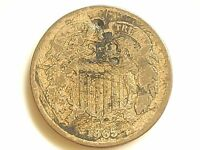 1865  TWO CENT PIECE  2 CENT