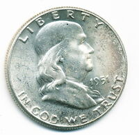 1951 P UNCIRCULATED FRANKLIN HALF DOLLAR