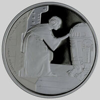 STAR WARS CLASSIC: PRINCESS LEIA 1 OZ SILVER PROOF COIN NIUE 2016