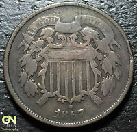 1867 2 CENT PIECE  --  MAKE US AN OFFER  W3066 ZXCV