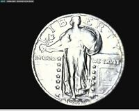 1929 SILVER STANDING LIBERTY QUARTER  PREMIUM QUALITY COIN  1872