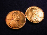 1960 P SMALL DATES LINCOLN CENTS 2 GREAT BU PHILADELPHIA COINS   101