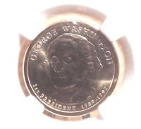 ICG CERTIFIED MINT STATE 65 FIRST 2007D GEORGE WASHINGTON $1 70916