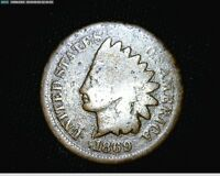 1869 INDIAN HEAD SMALL CENT PENNY 1729