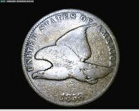 1858 FLYING EAGLE SMAL CENT PENNY 1710