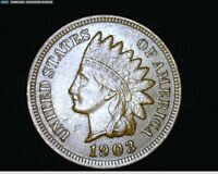 1903 INDIAN HEAD CENT PENNY 1717