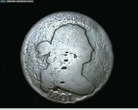 1801 LARGE CENT DRAPED BUST 1692