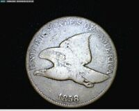 1858 FLYING EAGLE SMALL CENT PENNY LARGE LETTERS  1731