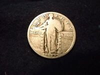 1927 STANDING LIBERTY QUARTER GREAT COIN  50