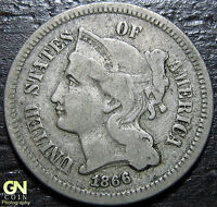 1866 3 CENT NICKEL PIECE      MAKE US AN OFFER  Y4825