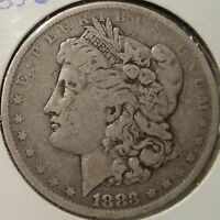 1883 O MORGAN DOLLAR NICE CIRCULATED COIN B12