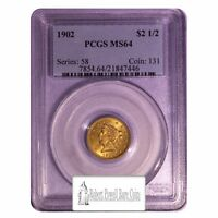 1902 $2.5 PCGS MS 64 LIBERTY QUARTER EAGLE