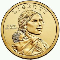 2014 D&P AND 2013 D&P   NATIVE AMERICAN SACAGAWEA US DOLLARS   4 COINS