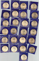 2009 P UNCIRCULATED 25 COIN ROLL SACAGAWEA DOLLAR FROM MINT SETS NICE