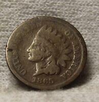 1865 INDIAN HEAD PENNY