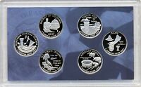 2009 UNC US MINT DISTRICT OF COLUMBIA & US TERRITORIES QUARTERS PROOF SET MIB
