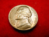 1946 JEFFERSON NICKEL GEM BU TONED COIN FROM ORIGINAL ROLL   10