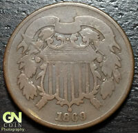 1869 2 CENT PIECE  --  MAKE US AN OFFER  W4033  ZXCV
