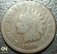 1865 INDIAN HEAD CENT  --  MAKE US AN OFFER  Y2986