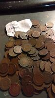 INDIAN HEAD CENT 1895 1896 1897 1898 1899 ONE RANDOM IHC COIN