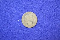 1908 P BARBER DIME AVG. CIRCULATED CONDITION 4