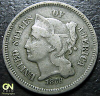 1868 3 CENT NICKEL PIECE      MAKE US AN OFFER  Y5207