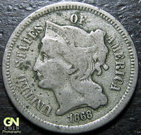 1868 3 CENT NICKEL PIECE      MAKE US AN OFFER  Y5213