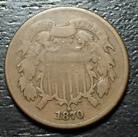 1870 2 CENT PIECE  --  MAKE US AN OFFER  O4691