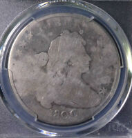 1800 $1 DRAPED BUST DOLLAR PCGS GENUINE CLEANING   AG DETAILS 32624142