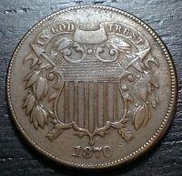 1870 2 CENT PIECE  --  MAKE US AN OFFER  Y1506