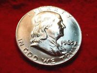 1963 D HALF DOLLAR GREAT GEM BU HALF DOLLAR   16