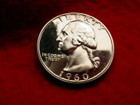 1960 WASHINGTON QUARTER GREAT PROOF CAMEO COIN  88