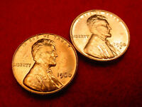 1960 P & D SMALL DATE LINCOLN CENTS 2 GREAT BU COINS   182