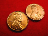 1960 P & D SMALL DATE LINCOLN CENTS 2 GREAT BU COINS   150