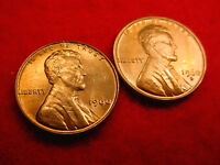 1960 P & D SMALL DATE LINCOLN CENTS 2 GREAT BU COINS   210